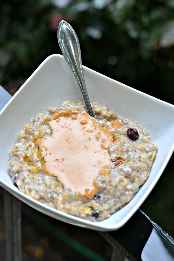 Banana Egg White Oatmeal