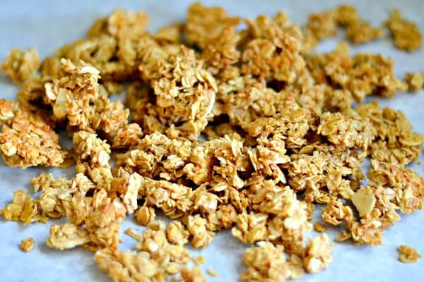 Honey Almond Granola Recipe