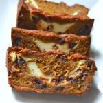 Pumpkin Banana Bread with Chocolate Chips