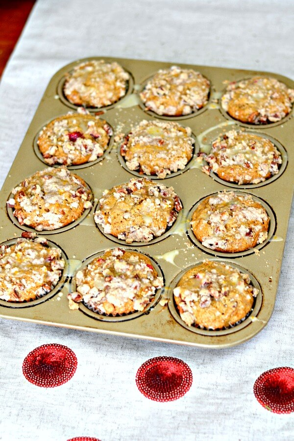 Cranberry Orange Muffins Pan