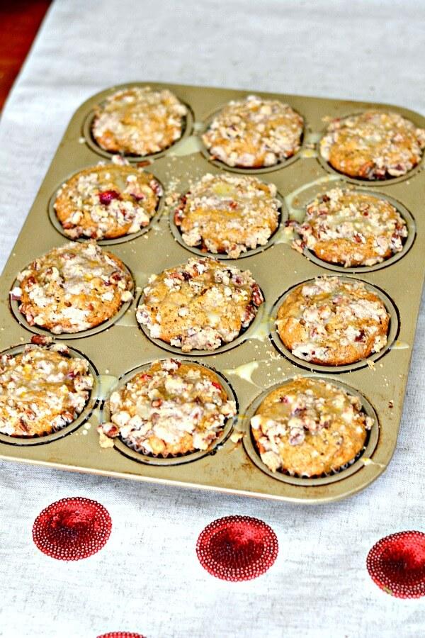 Cranberry Orange Muffins Pan