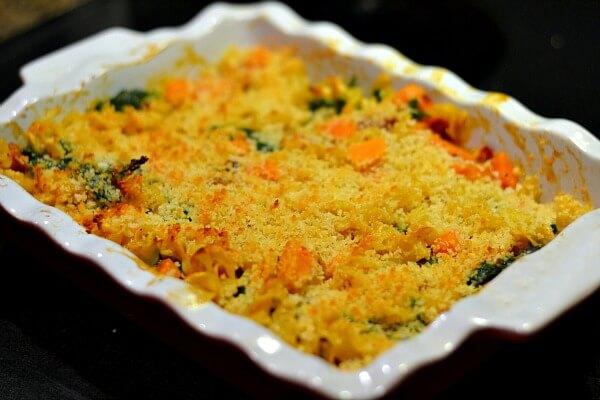 Kale Sweet Potato Casserole