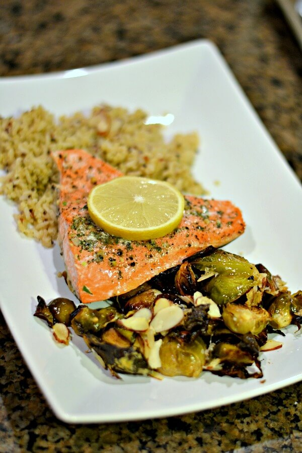 Lemon Parmesan Salmon