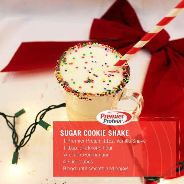 Sugar cookie shake with recipe