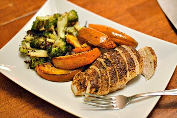 chicken and squash