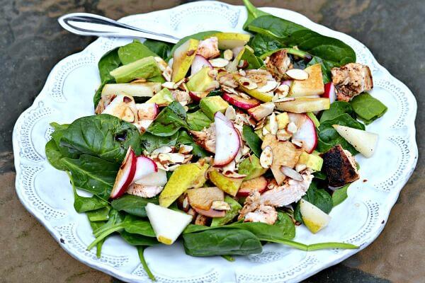Whole30 compliant salad.