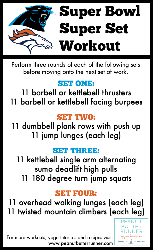 A challenging total body super set workout with strength, ploymetrics, core work and more!