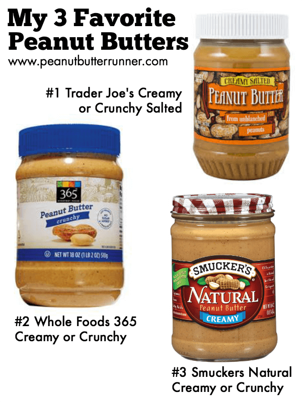 My Favorite Peanut Butters