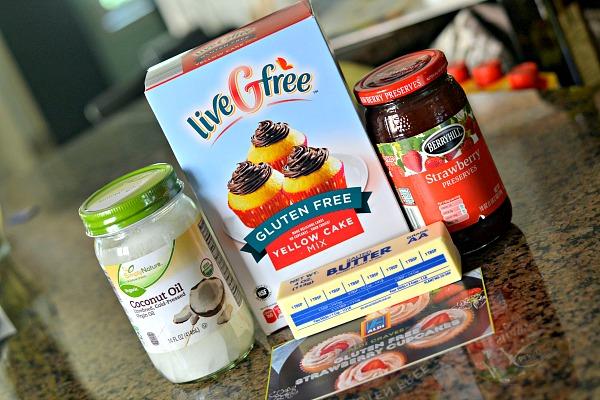 ALDI Gluten-Free Strawberry Cupcakes