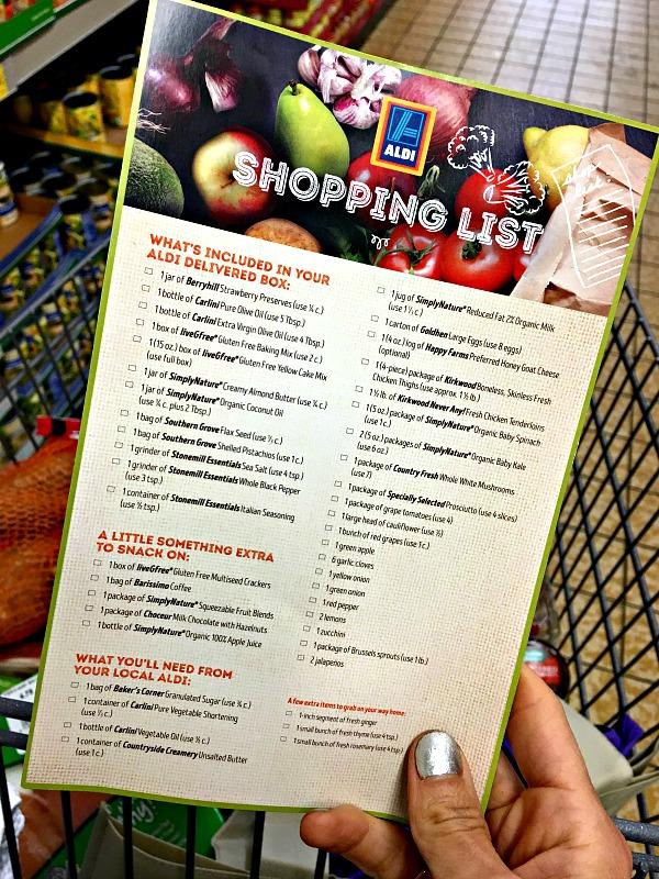 ALDI Shopping List