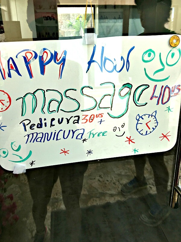 massagesign