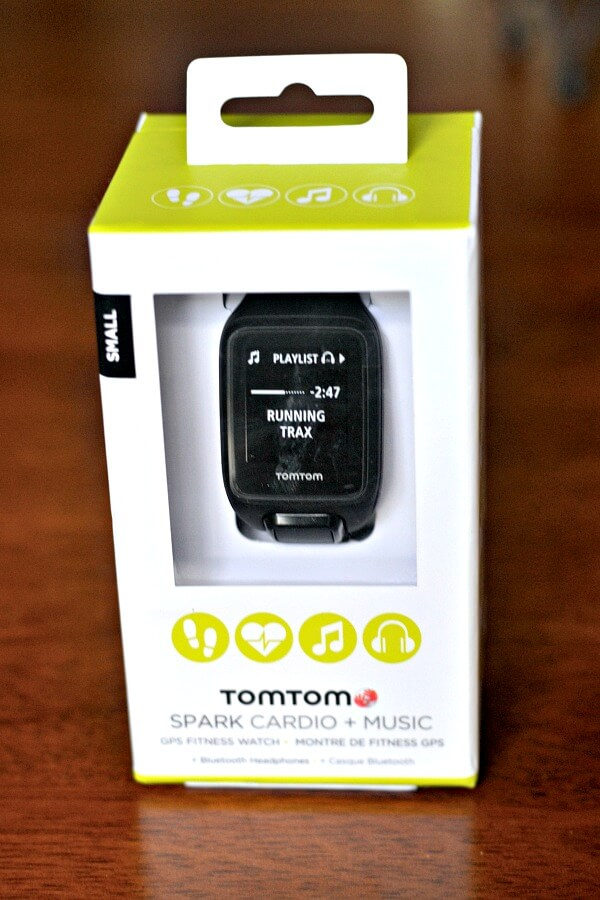 TomTom Spark Cardio + Music GPS Fitness Watch