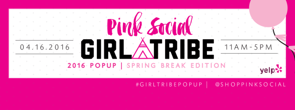 Pink Social Pop Up Shop
