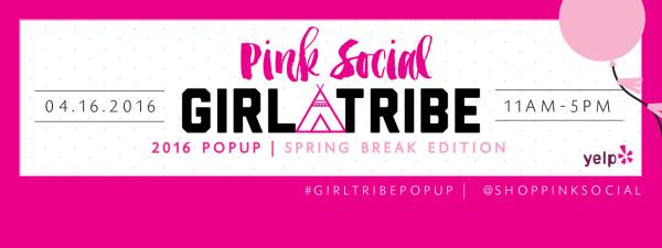 Pink Social Pop Up Shop
