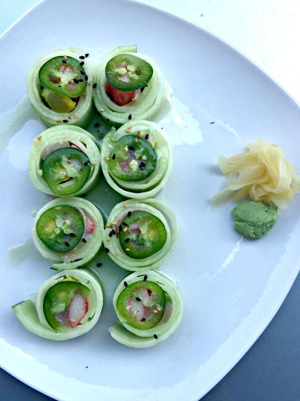 Sushi at Namastay Kitchen