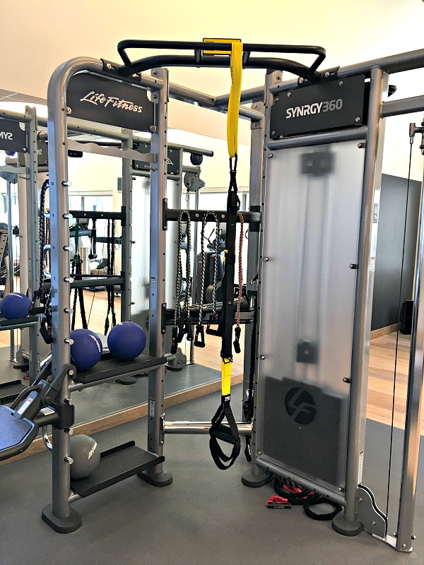 Charlotte Marriott City Center Gym