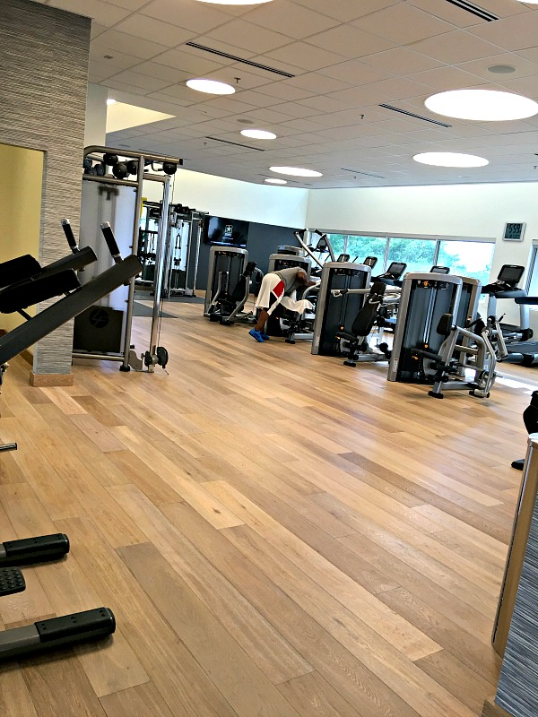 Charlotte Marriott City Center Flex Fitness Center
