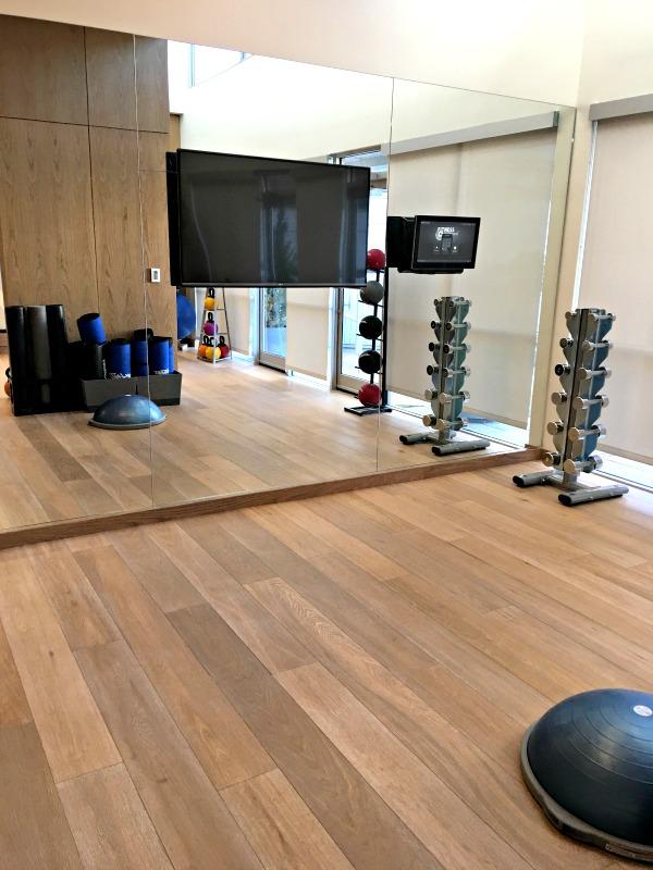 Charlotte Marriott City Center Gym