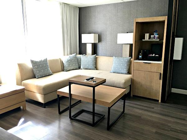 Charlotte Marriott City Center City Suite