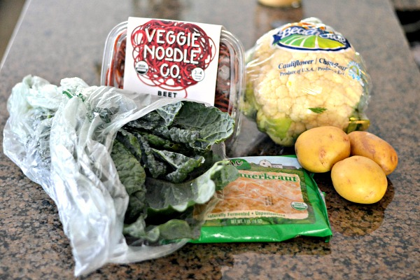 Whole Foods Veggies