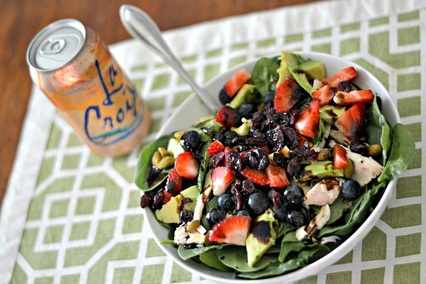 Berry Salad with Chicken