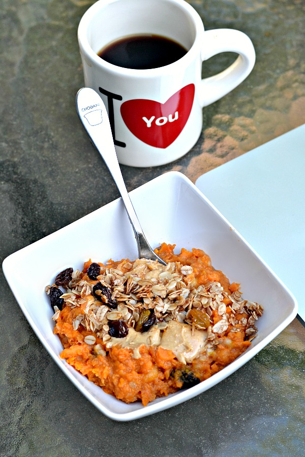 Sweet potato breakfast bowl