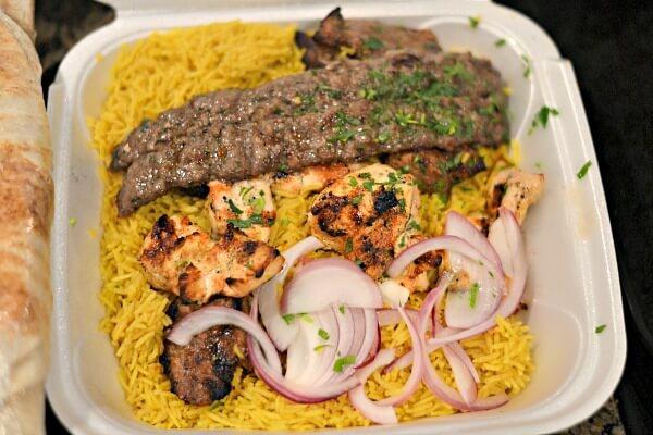 La Shish Kabob Mixed Grill