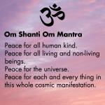 Om Shanti Peace