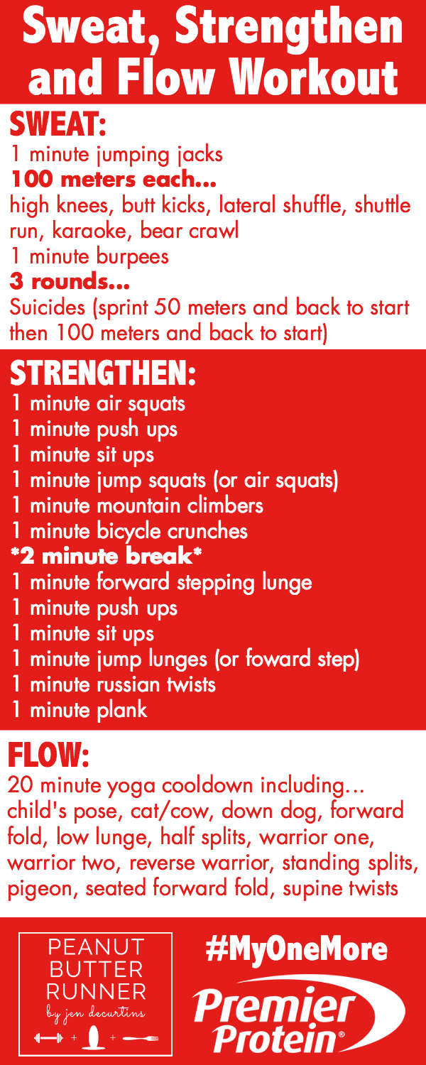 Sweat, Strengthen and Flow Outdoor Workout