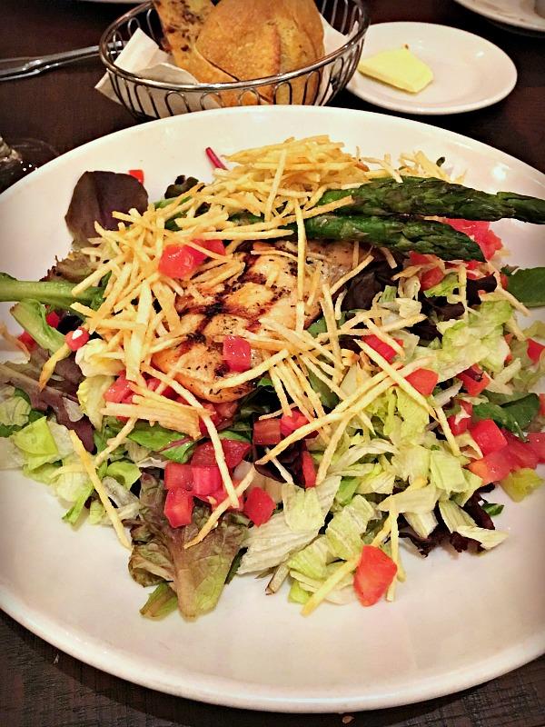 Brio Salmon Salad