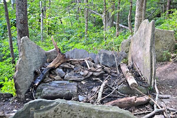 Profile Trail Campsite on Grandfather Mountain