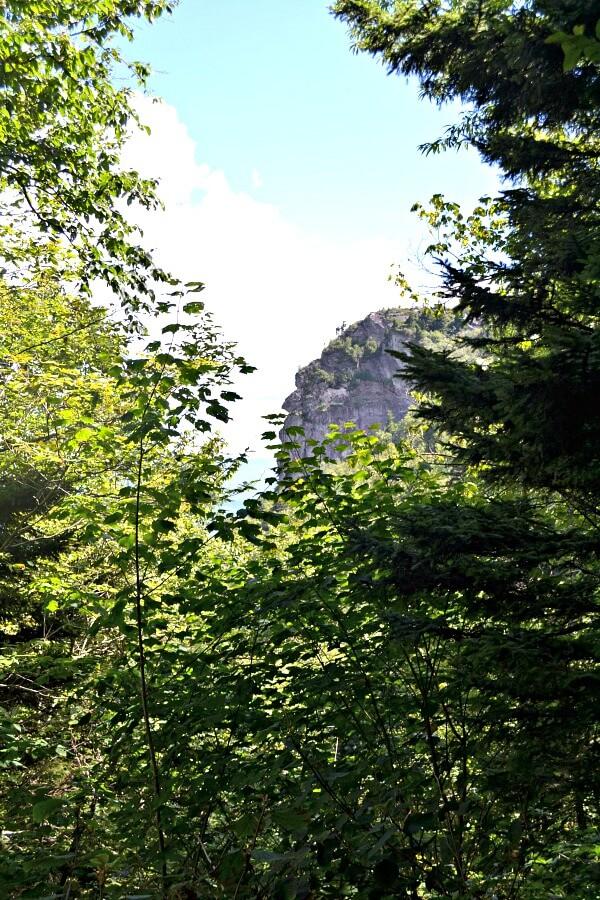Grandfather Mountain Profile View