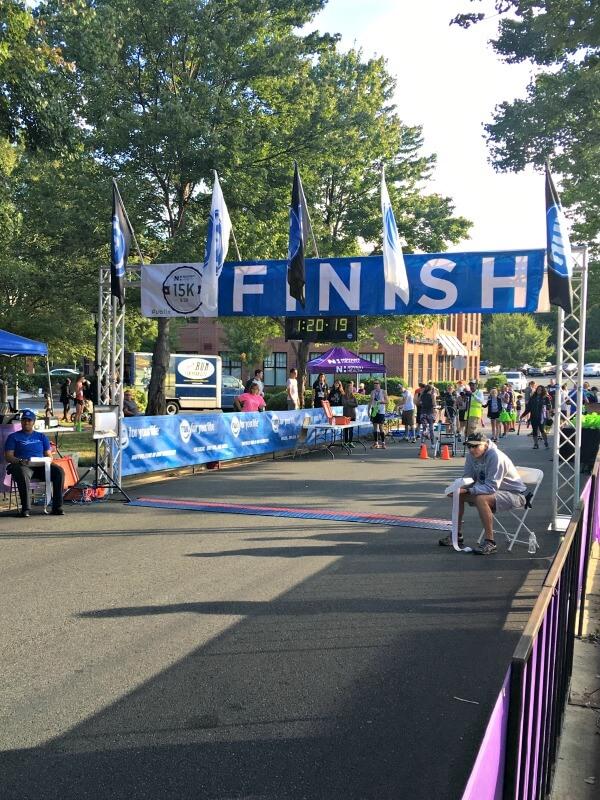 Novant Health 15K Race Recap