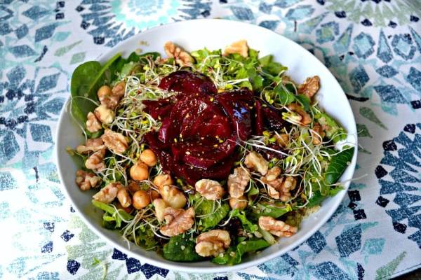Salad with Beets and Quinoa