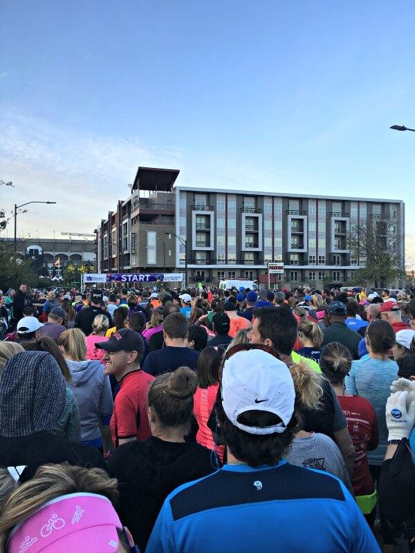 Charlotte Marathon Starting Line