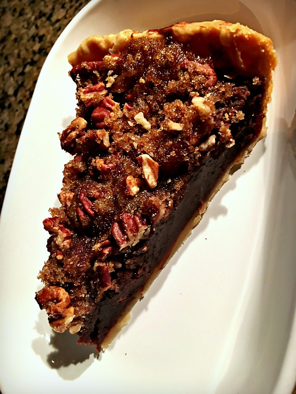 Chocolate Pecan Chess Pie