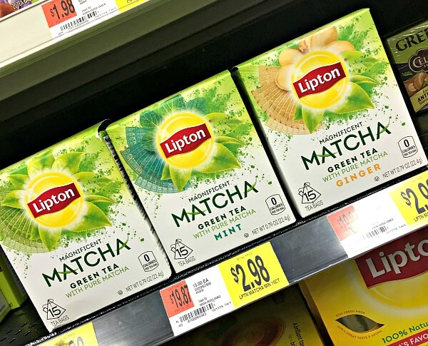 Tea All The Time A New Matcha Green Tea From Lipton
