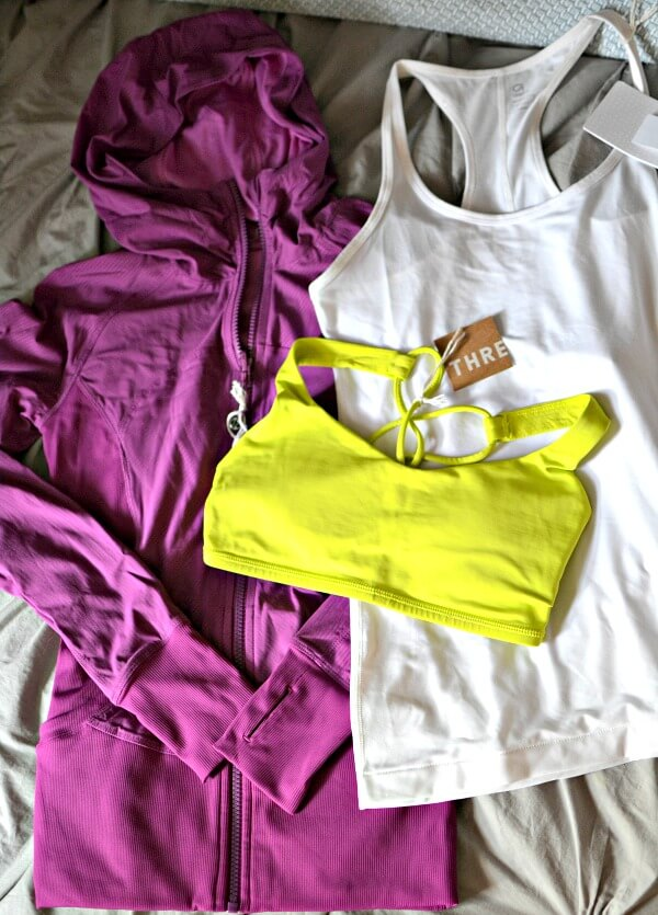 Save big on activewear with thredUP.