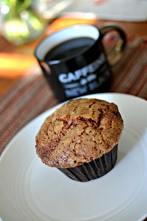 Sunflour morning glory muffin