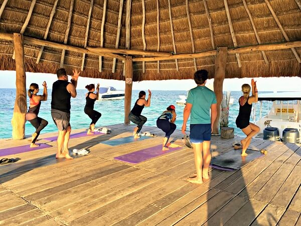 yoga retreat at Zoetry Paraiso de la Bonita