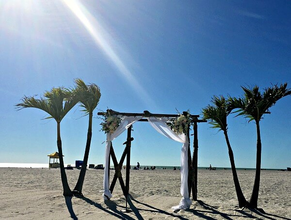 st. pete beach wedding