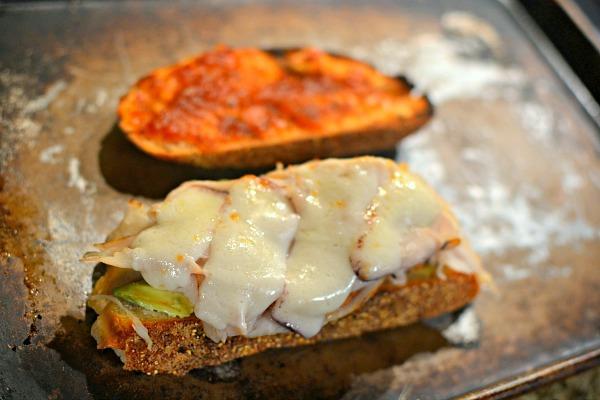 Sourdough, mayo, avocado, turkey, goat cheese and Chef Alyssa's champagne tomato jam