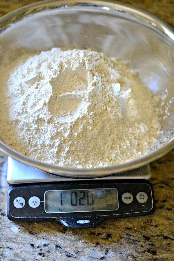 Sourdough bread flour