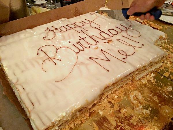 Italian Napoleon Cake
