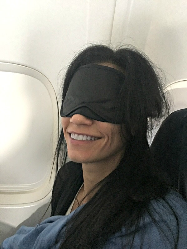sleeping on international flights