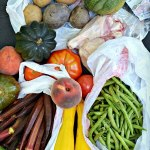 Farmers Market, Food Shopping and This Week's Dinner Menu