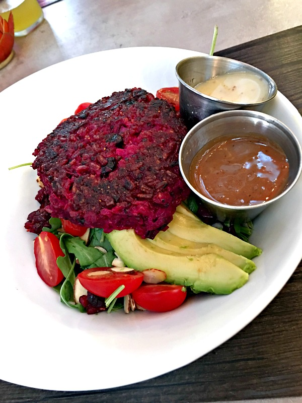 Namastay Kitchen Beet Burger