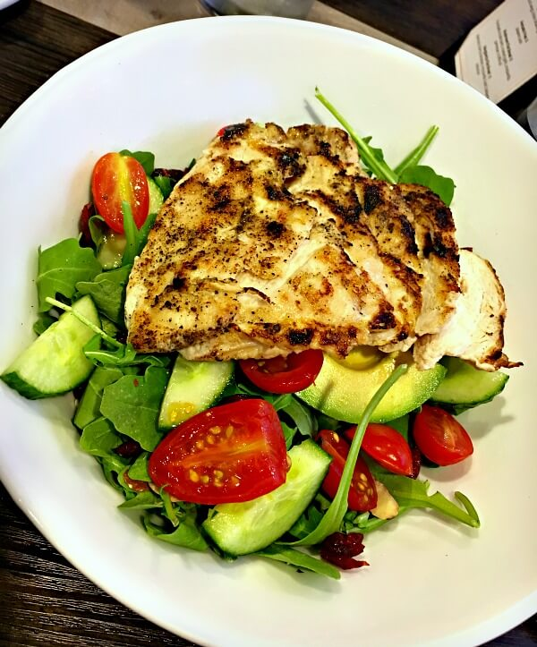 Namastay Kichen Charlotte salad