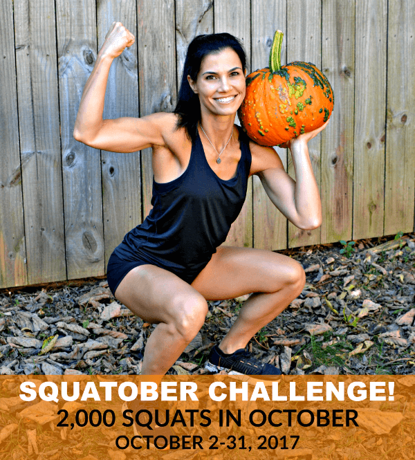Peanut Butter Runner SQUATOBER Instagram Challenge. 2,000 squats in October!