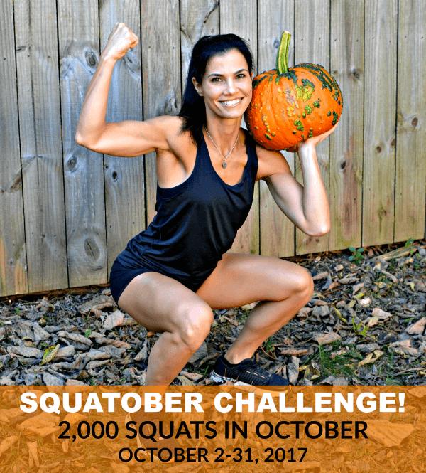 Peanut Butter Runner SQUATOBER Instagram Challenge. 2,000 squats in October!